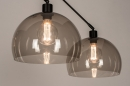 Hanglamp 31028: modern, retro, eigentijds klassiek, glas #7