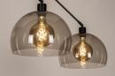 Hanglamp 31028: modern, retro, eigentijds klassiek, glas #8