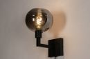 Wandlamp 31034: modern, retro, eigentijds klassiek, glas #2