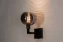Wandlamp 31034: modern, retro, eigentijds klassiek, glas #3