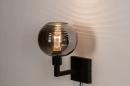 Wandlamp 31034: modern, retro, eigentijds klassiek, glas #4