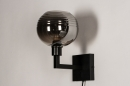 Wandlamp 31034: modern, retro, eigentijds klassiek, glas #5