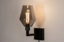 Wandlamp 31035: modern, retro, eigentijds klassiek, glas #2