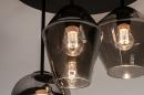 Plafondlamp 31036: modern, retro, eigentijds klassiek, glas #10