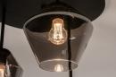 Plafondlamp 31036: modern, retro, eigentijds klassiek, glas #11