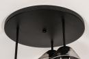 Plafondlamp 31036: modern, retro, eigentijds klassiek, glas #13
