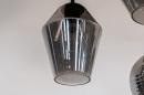 Plafondlamp 31036: modern, retro, eigentijds klassiek, glas #7