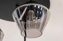 Plafondlamp 31036: modern, retro, eigentijds klassiek, glas #8