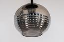 Plafondlamp 31036: modern, retro, eigentijds klassiek, glas #9