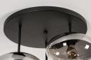 Plafondlamp 31039: modern, retro, eigentijds klassiek, glas #11