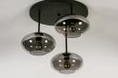 Plafondlamp 31039: modern, retro, eigentijds klassiek, glas #6
