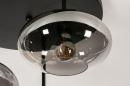 Plafondlamp 31039: modern, retro, eigentijds klassiek, glas #8