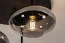 Plafondlamp 31039: modern, retro, eigentijds klassiek, glas #9