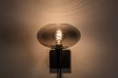 Wandleuchte 31040: modern, Retro, zeitgemaess klassisch, Glas #6