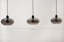Hanglamp 31041: modern, retro, eigentijds klassiek, glas #1