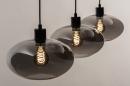 Hanglamp 31041: modern, retro, eigentijds klassiek, glas #4