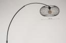 Vloerlamp 31043: modern, retro, metaal, zwart #1