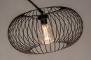 Vloerlamp 31043: modern, retro, metaal, zwart #10
