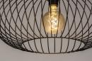 Vloerlamp 31043: modern, retro, metaal, zwart #11