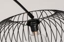 Vloerlamp 31043: modern, retro, metaal, zwart #12