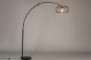 Vloerlamp 31043: modern, retro, metaal, zwart #2