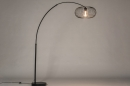 Vloerlamp 31043: modern, retro, metaal, zwart #3