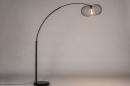 Vloerlamp 31043: modern, retro, metaal, zwart #4