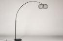 Vloerlamp 31043: modern, retro, metaal, zwart #6