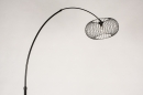 Vloerlamp 31043: modern, retro, metaal, zwart #7