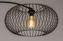 Vloerlamp 31043: modern, retro, metaal, zwart #8