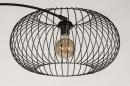 Vloerlamp 31043: modern, retro, metaal, zwart #9