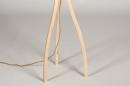 Vloerlamp 31048: design, modern, hout, licht hout #11