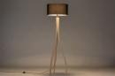 Vloerlamp 31048: design, modern, hout, licht hout #2