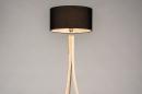 Vloerlamp 31048: design, modern, hout, licht hout #4