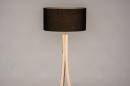 Vloerlamp 31048: design, modern, hout, licht hout #5