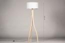 Vloerlamp 31049: landelijk, rustiek, modern, hout #1