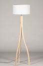 Vloerlamp 31049: landelijk, rustiek, modern, hout #6