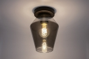 Plafondlamp 31051: modern, retro, eigentijds klassiek, glas #2