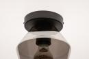 Plafondlamp 31051: modern, retro, eigentijds klassiek, glas #6