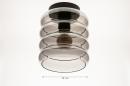Plafondlamp 31053: modern, retro, eigentijds klassiek, glas #1