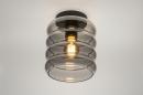 Plafondlamp 31053: modern, retro, eigentijds klassiek, glas #2