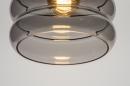 Plafondlamp 31053: modern, retro, eigentijds klassiek, glas #4