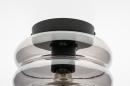 Plafondlamp 31053: modern, retro, eigentijds klassiek, glas #7