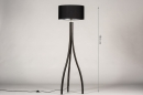 Vloerlamp 31056: design, modern, eigentijds klassiek, hout #1