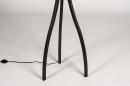 Vloerlamp 31058: landelijk, rustiek, modern, hout #12
