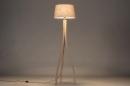 Vloerlamp 31061: landelijk, rustiek, modern, hout #2