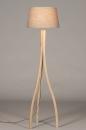 Vloerlamp 31061: landelijk, rustiek, modern, hout #3