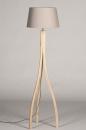 Vloerlamp 31061: landelijk, rustiek, modern, hout #6