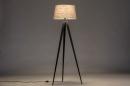 Vloerlamp 31062: design, modern, stof, metaal #2