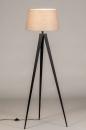 Vloerlamp 31062: design, modern, stof, metaal #3